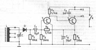 Radioreceptor cu aplificare directă (varianta 1)