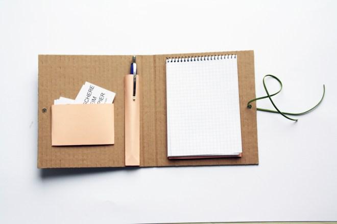 DIY Organizer aus Papier