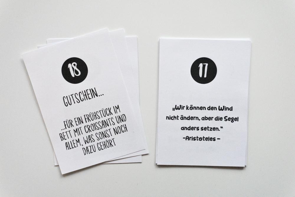 Adventskalender Basteln: Freebie Zum Ausdrucken  Schereleimpapier DIY Und  Upcycling Blog Aus Berlin   Kreative