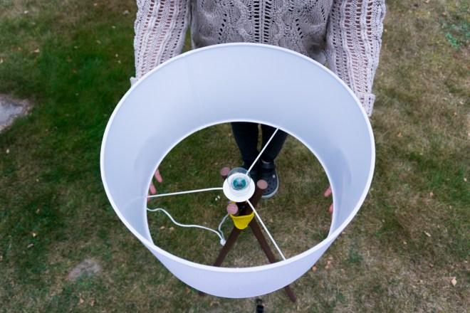 schereleimpapier DIY und Upcycling Blog aus Berlin - kreative Tutorials für Geschenke, Möbel und Deko zum Basteln – Kupfer Stehlampe selber bauen