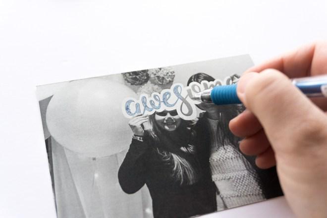 DIY Einladungskarten Party