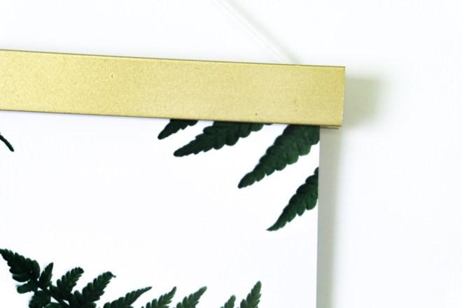 schereleimpapier DIY Blog Berlin Bild für Muttertag basteln Geschenkidee Freebie Farn P