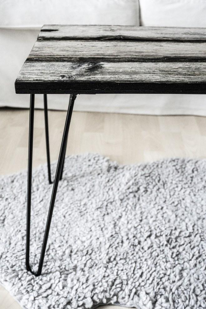 chereleimpapier DIY und Upcycling Berlin Vatertagsgeschenke selber machen Tisch aus Altholz