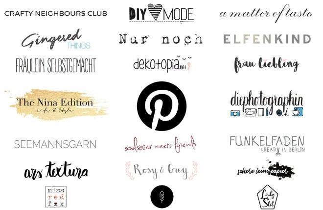 schereleimpapier DIY und Upcycling Blog aus Berlin - kreative Tutorials für Geschenke, Möbel und Deko zum Basteln - Pinterest Teilnehmer Liste