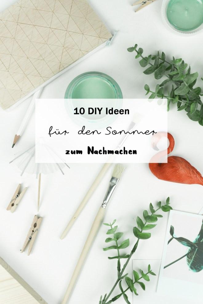 Basteln Sommer 10 diy bastelideen für den sommer schereleimpapier