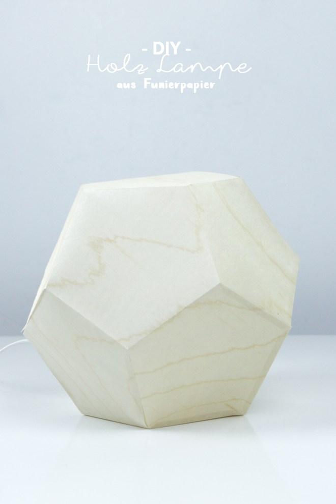 eine diy lampe aus furnierpapier vorlage schereleimpapier diy. Black Bedroom Furniture Sets. Home Design Ideas