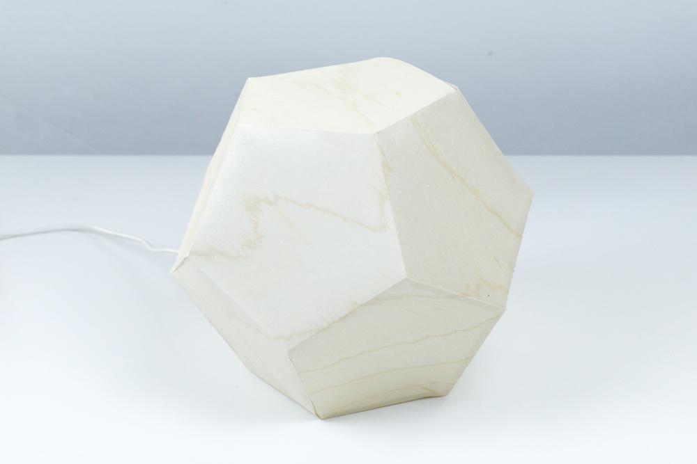 Eine DIY Lampe Aus Furnierpapier (+Vorlage