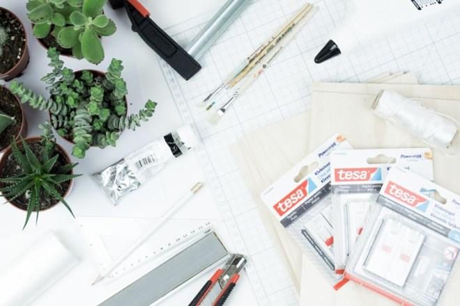 Jetzt wird\'s hyggelig: Sukkulenten Wanddeko selber machen | DIY