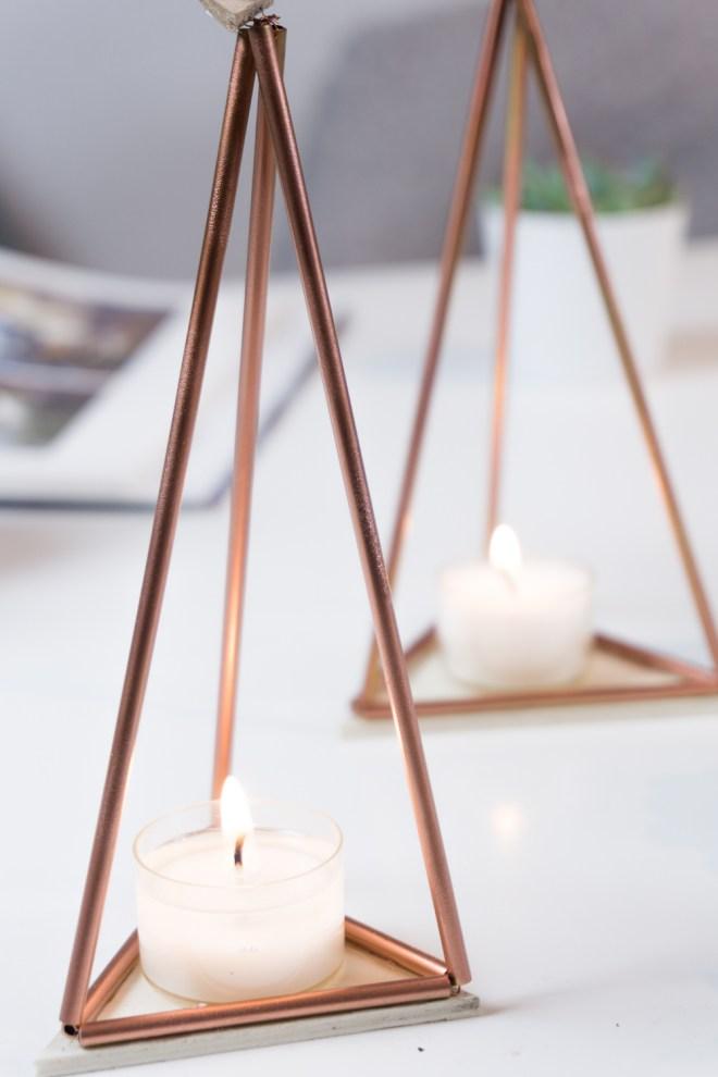 schereleimpapier DIY und Upcycling Blog aus Berlin - kreative Tutorials für Geschenke, Möbel und Deko zum Basteln - Teelichthalter basteln Deko Idee für den Herbst