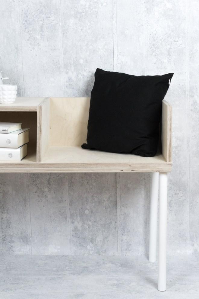 So einfach lässt sich eine DIY Sitzbank selber bauen