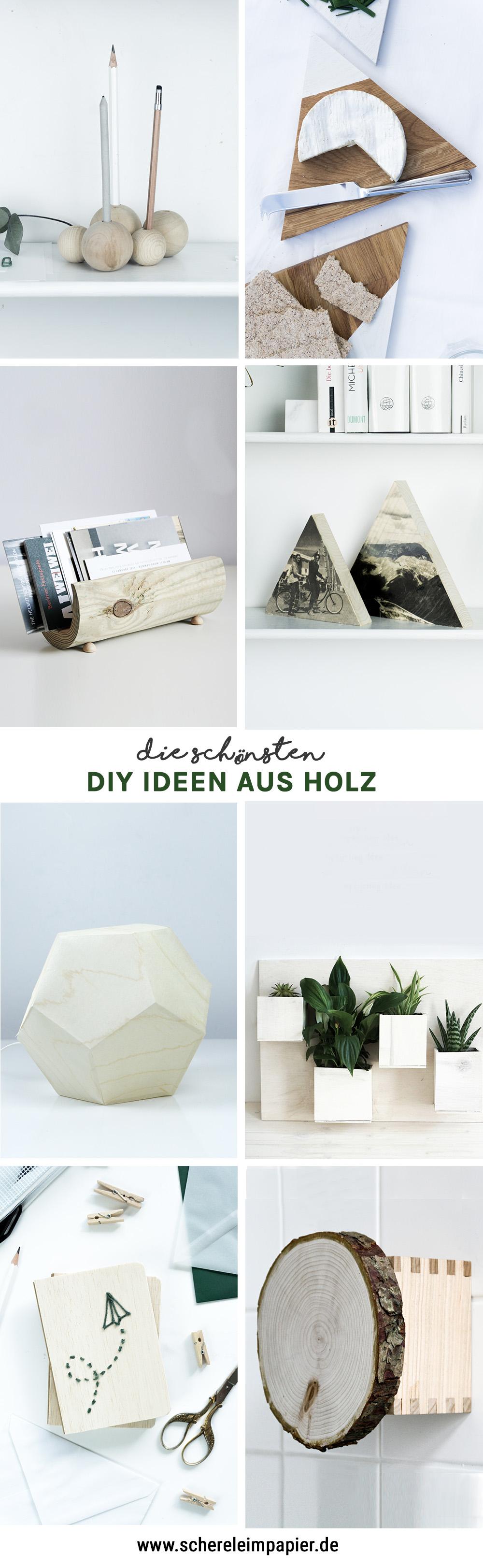 Diy Ideen Aus Holz  Schereleimpapier DIY Und Upcycling Blog Aus Berlin    Kreative Tutorials Für