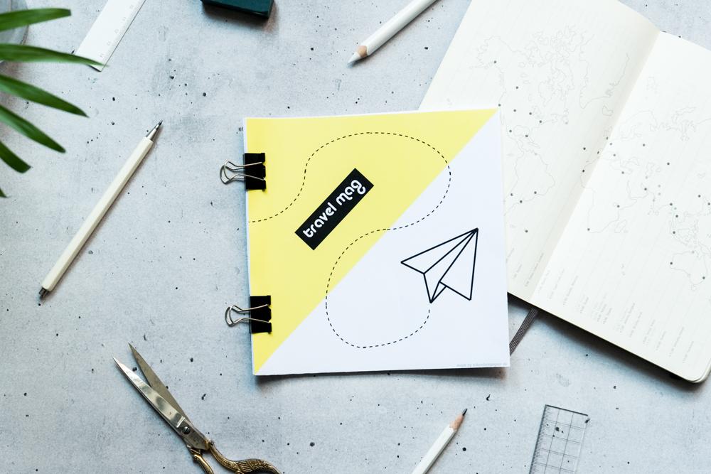 DIY Travel Mag Reiseplan zum Ausdrucken - schereleimpapier DIY Blog Berlin London