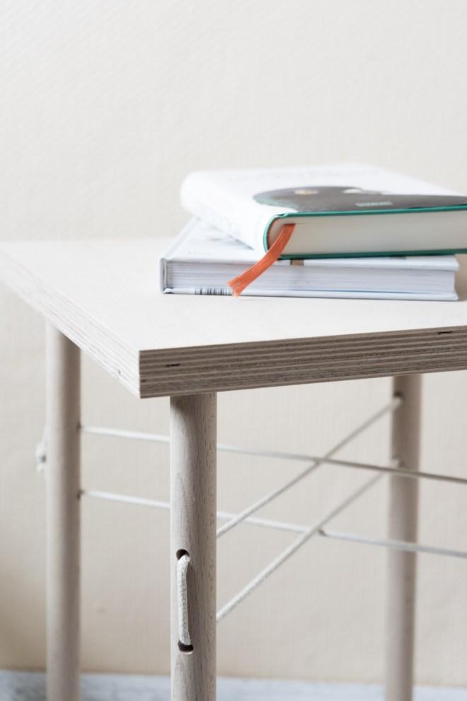 Holz Trifft Seil Wie Man Einen Kleinen Diy Tisch Selber Bauen Kann