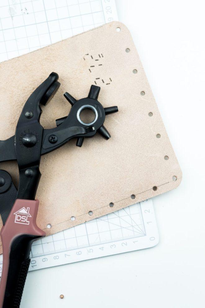 Leder Brillenetui selber machen - -schereleimpapier DIY und Upcycling Blog aus Berlin - kreative Tutorials für DIY Geschenke, DIY Möbel und DIY Deko zum Basteln