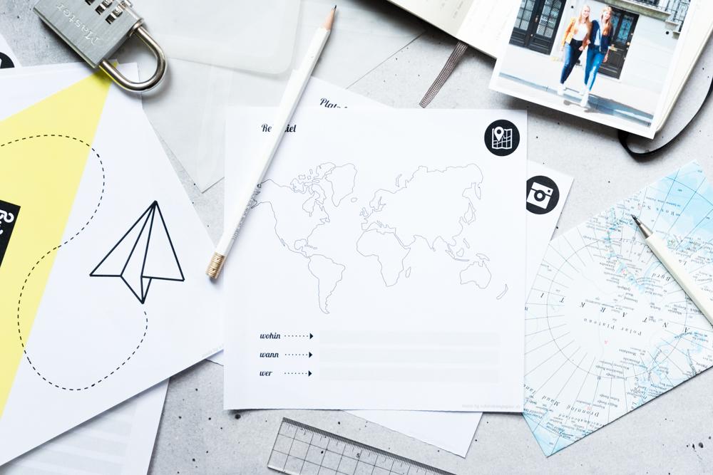 DIY Ideen für Reise und Urlaub -schereleimpapier DIY und Upcycling Blog aus Berlin - kreative Tutorials für DIY Geschenke, DIY Möbel und DIY Deko zum Basteln