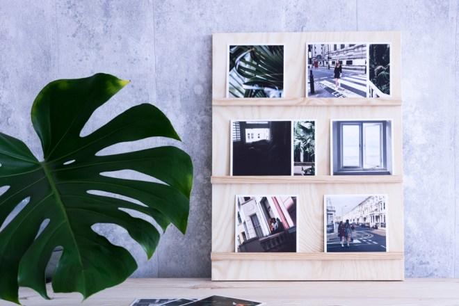 DIY Bilderrahmen basteln aus Holz für Fotos schereleimpapier DIY und Upcycling Blog aus Berlin - kreative Tutorials für DIY Geschenke, DIY Möbel und DIY Deko zum Basteln
