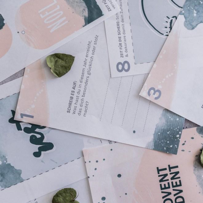 schereleimpapier DIY Blog Adventskalender selber machen Freebie zum Ausdrucken - kreative Tutorials für DIY Geschenke, DIY Möbel und DIY Deko zum Basteln