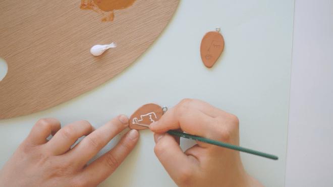 Ohrringe selber machen schereleimpapier DIY und Upcycling Blog aus Berlin - kreative Tutorials für DIY Geschenke, DIY Möbel und DIY Deko zum Basteln