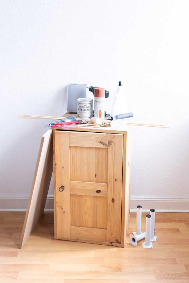 Upcycling mit Kreidefarbe schereleimpapier DIY und Upcycling Blog aus Berlin - kreative Tutorials für DIY Geschenke, DIY Möbel und DIY Deko zum Basteln