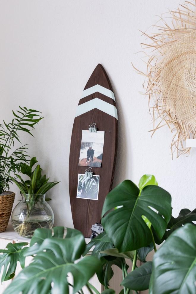 DIY Foto Geschenk für Surfer schereleimpapier kreative Tutorials für DIY Geschenke, DIY Möbel und DIY Deko zum Basteln