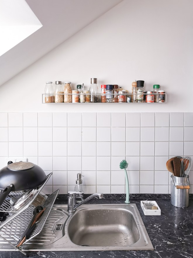 Küche verschönern Makeover DIY