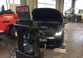 VW Golf 7 GTI PP APR Software Installation