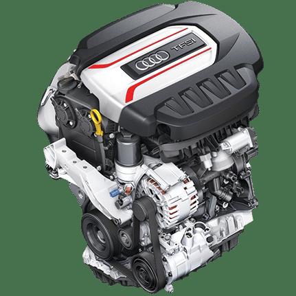 Audi S3 8V Motor (offizielle Grafik)