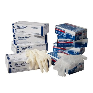 Disposable Gloves - Latex and Vinyl