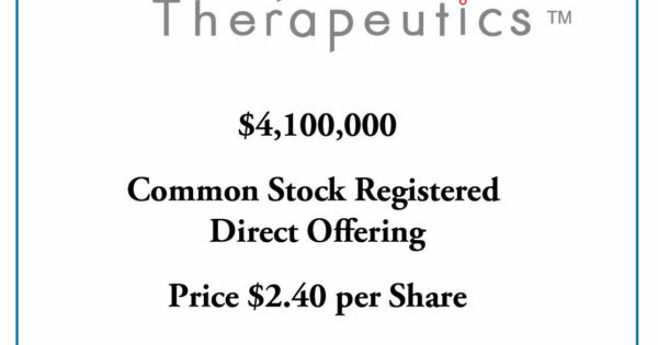 SC&H Capital Helps Capricor Therapeutics Secure Financing