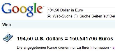 google-dollar-euro