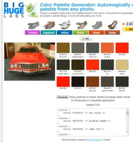 Aus Digitalfotos Eine Farbpalette Mit Css Farbcodes Erzeugen Schiebde
