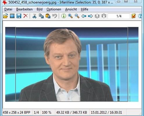 IrfanView: Maximierte Markierung erstellen