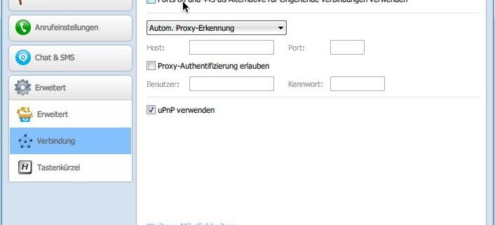 Skype: Port 80 freihalten