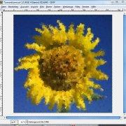 GIMP: Beispiel für Kubismus-Filter