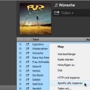 Spotify: Backup einer Playlist erstellen