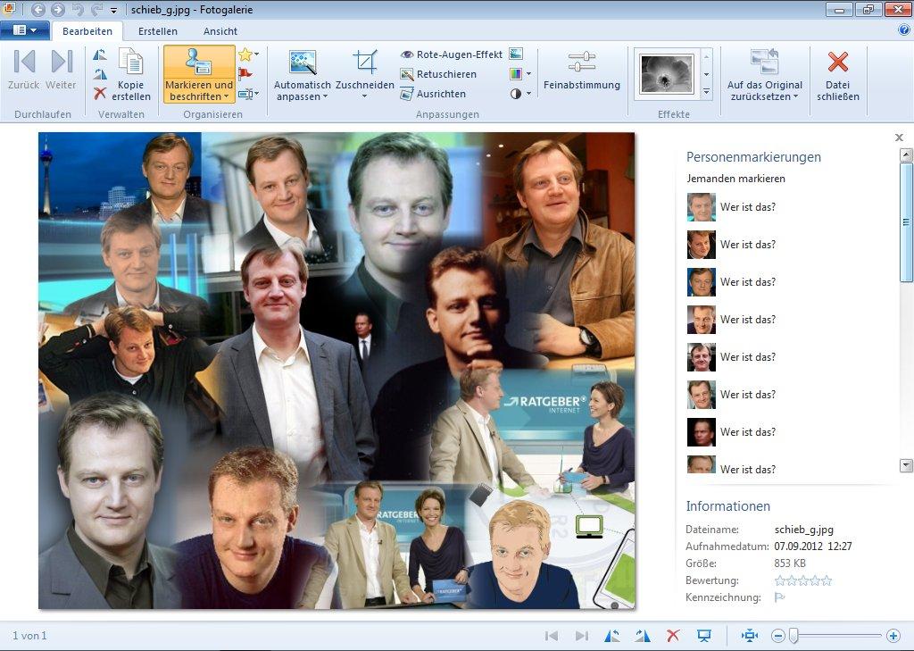mit der foto galerie eine automatische collage erstellen