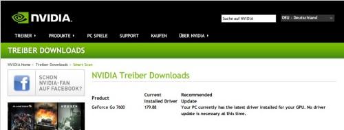 nvidia-treiber-installiert