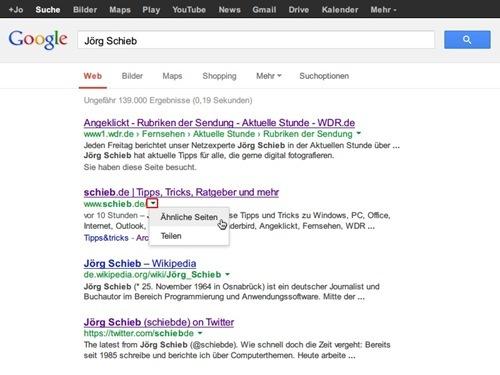 google-dropdown-aehnliche-seiten