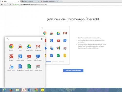 chrome-app-uebersicht