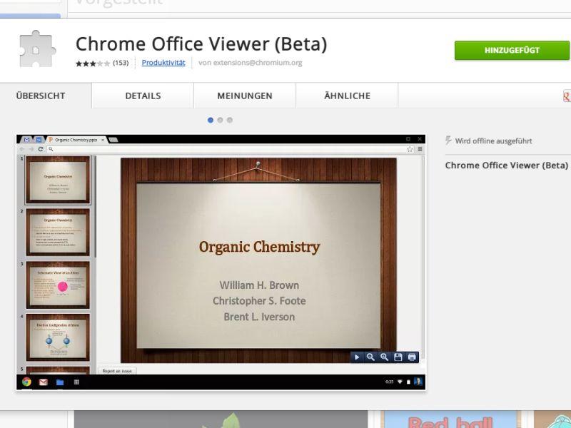Word Excel Und PowerPoint Dateien In Google Chrome Anzeigen