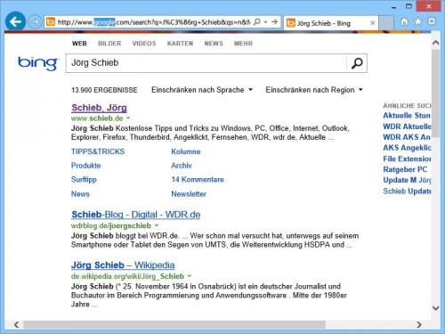 google-bing-suche-umschalten