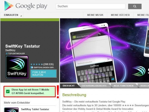 google-play-store-kompatibilitaet