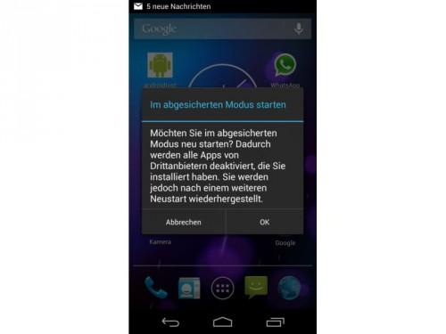android-abgesicherter-modus