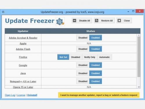 update-freezer