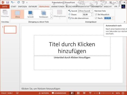 powerpoint-anzeigedauer-automatisch-weiter