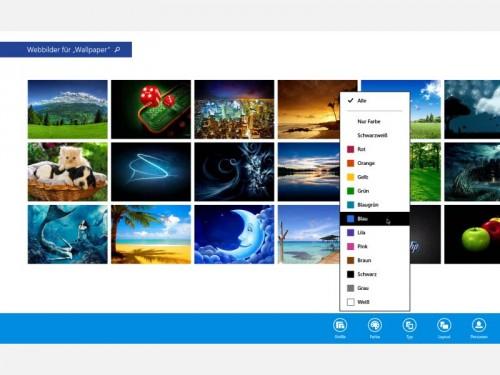win81-webbilder-suchen-farbe-filtern