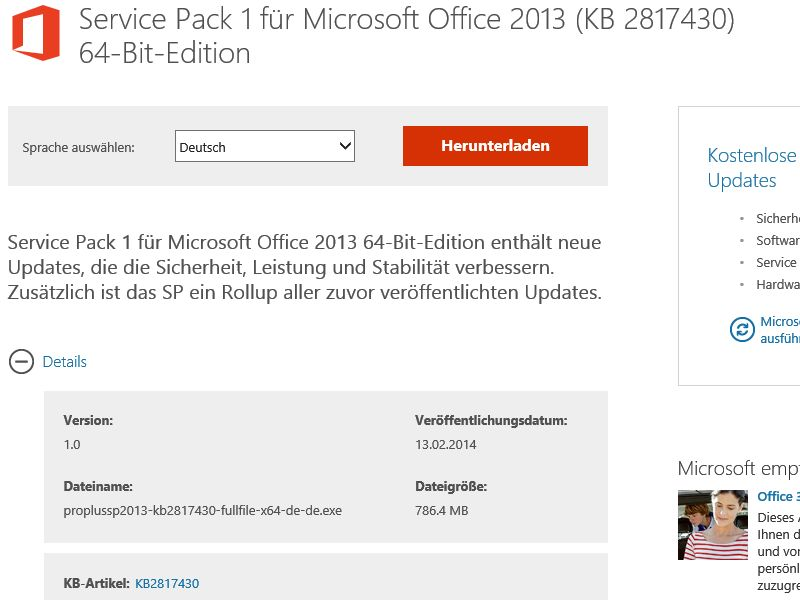 microsoft office 2013 sp1 download 64 bit