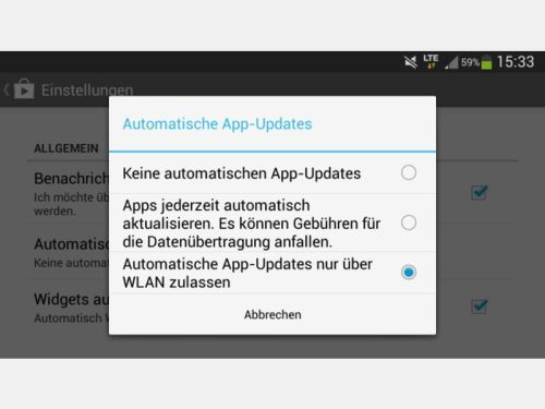 Apps Android Laden