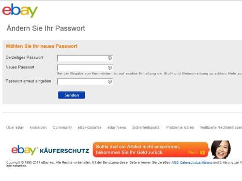 ebay-kennwort-aendern