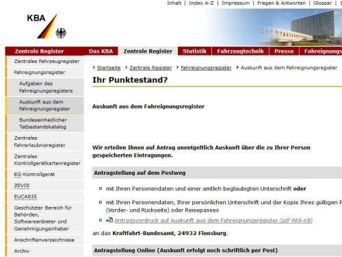 kraftfahrt-bundesamt-punkte-flensburg